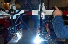Product Applications - Twin Arc Seam Tracker Welding